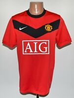 MANCHESTER UNITED 2009/2010 HOME FOOTBALL SHIRT JERSEY NIKE SIZE M ADULT