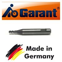 GARANT Solid Carbide End Mill 2.5mm Shank Dia 6MM TiAIN Coat 3-Flute HCR