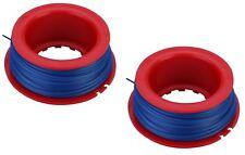 2 x Taille-haie débroussailleuse bobine & ligne pour Flymo ET21 Mini Trim St.