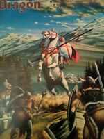 Vintage Dungeons and Dragons Dragon Magazine#62 1st Larry Elmore cover