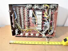 Aircraft Part Electrical Box Assembly With Relays And Terminal Strips