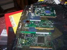 Set of three PCI Network cards