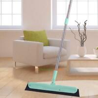 Mop Floor Squeegee Mop Wiper Stainless Steel Handle Removal of Water Hair&Dust