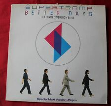 Supertramp, better days (extended version) / brother where you bound, Maxi Vinyl