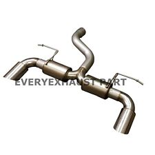 Ford Focus RS Mk2 2.5 2009-11 Performance Exhaust System - Rear Box Delete Debox