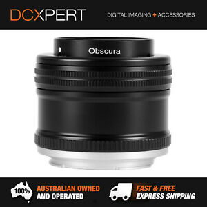 LENSBABY OBSURA 50 WITH FIXED BODY FOR CANON EF (LBFBOC)
