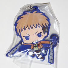 Official Attack on Titan rubber mascot strap - Jean By BANDAI SNK *NEW*