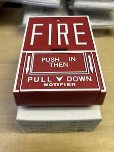 NOTIFIER NBG-10 Conventional RED Manual Fire Alarm Pull Station NIB
