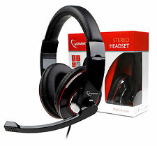 Gembird MHS-001 Gaming Stereo Headset | Built In Mic - Ideal For GAMES & SKYPE