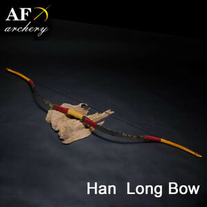 AF New Chinese Traditional Handmade Fiberglass Bow 20-50lbs Han Bow Recurve bow