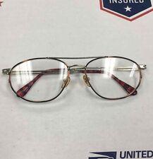 Glass Frames Optical Eyeglass Frame Men Women Silver Tone Tortoise Rectangular