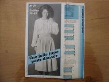 Patron Patroon JUPE POUR DANSER Femmes d'aujourd'hui MODE vintage