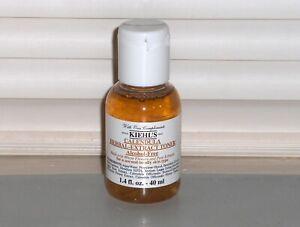 KIEHL'S Calendula Herbal Extract Toner, Alcohol-Free, Mini 1.4 oz, 40 ml, SEALED