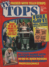 TOPS TV Magazine No.53 9 October 1982    Shakin' Stevens   Fun Boy Three
