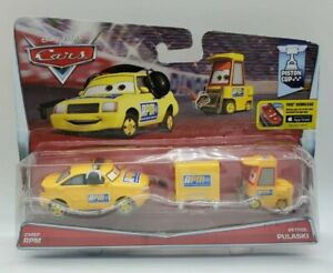 Mattel Disney Pixar Cars Chief RPM & Petrol Pulaski Piston Cup 2014
