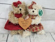 """Bearington Teddy Bears""""You Are Heaven Sent"""" 2 FRIEND  - Fully Jointed"""