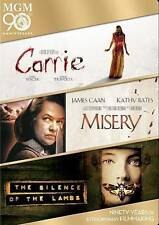 Carrie/Misery/The Silence of the Lambs (DVD, 2014, Widescreen 3-Disc Set)