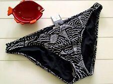 NWT sz XL 16 18 Tribal Print Black & White Bikini Tankini Swimsuit Bottom NEW