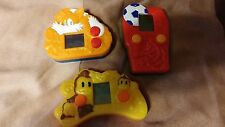 three mcdonalds sonic the hedgehog hand held games 2004