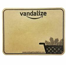 GORILLA PRESS - VANDALIZE DESIGN BLANKS - BROWN KRAFT PAPER STICKER PACK