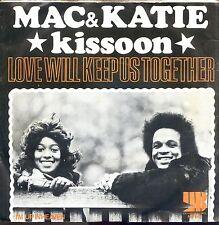 7inch MAC & KATIE KISSOON love will keep us toghether  HOLLAND +PS 1972