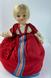 Vintage Kitsch Russian Tea Cosy Doll Insulated Kettle Warmer Folk Art