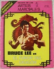 Bruce Lee - Revista española de artes marciales ''El Budoka'' (1975) - Rareza