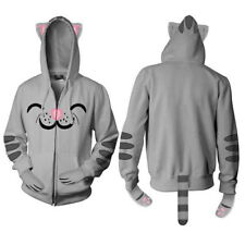The Big Bang Theory Soft Kitty Zippered Hoodie Ears Paws Tail Size LARGE UNWORN