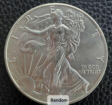 American Silver Eagle - RANDOM YEAR - .999 Fine Silver