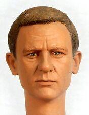 1:6 Custom Head Daniel Craig as James Bond in Casino Royale or Quantum of Solace