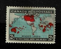 Canada SC# 86, Mint Hinged, two small center thins - S2636