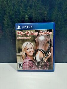My Riding Stables Life with Horses Sony PlayStation 4 PS4 Horse Game