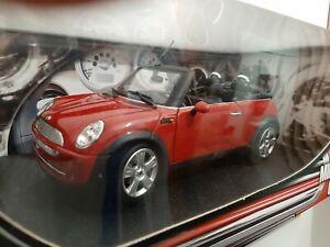 1/18 mini cooper cabrio hot wheels