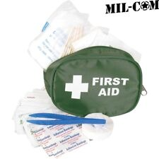 Mil-com army small traveller first aid kit survival bandages scissors