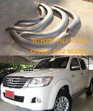 Toyota Hilux Vigo Champ Mk7 12 13 14 Workmate Fender Flares Wheel Arch Arches 6