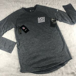 Nike New York Giants Retro Sz M Throwback Sideline Performance Sweatshirt $75