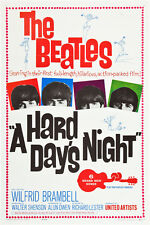 "The Beatles A hard day's night Movie Poster Replica 13x19"" Photo Print"