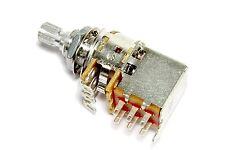 Alpha Push Pull 250K DPDT Coarse Spline Split Shaft Pot Potentiometer