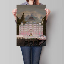 The Grand Budapest Hotel Movie Poster Wes Anderson 16.6 x 23.4 in (A2)