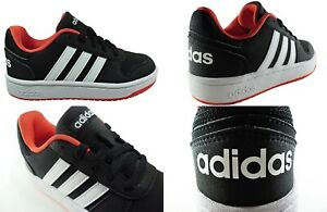 Kids Adidas Trainers Hoops 2.0 New Boys Girls Shoes Casual Lace Sale Size 11-5.5