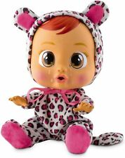 Cry Baby Cry Babies Lea Pink Leopard Print Doll Working Unboxed