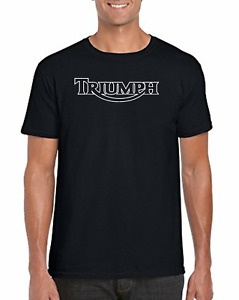 Triumph Motorcycle Black T Shirt (Limited Stock)