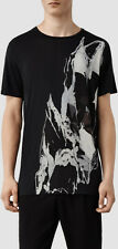 "*NEW ""ALLSAINTS"" MEN'S ""RIP IT UP SS CREW"" BLACK TSHIRT SIZE ""2XL"" NEW WITH TAGS"