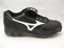 Mizuno Mens 9 Spike Classic G4 Low Baseball Cleats 15 Black Metal Spike Pro NEW