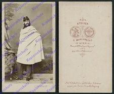orig CDV-Foto Leutnant Uniform Kavallerie Königreich Bayern Mahlknecht Wien 1867