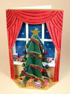 """A4 Card Making Templates - """"The Night Before Christmas"""" by Card Carousel"""