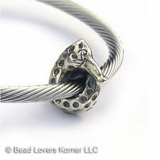 Sterling Silver Seahorse Charm European Beads Paracord Bead