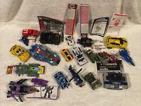 Transformers Lot Bumblebee Soundwave Blurr Hound Skywarp Stakeout Swerve G1