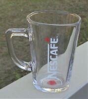 Nescafe Tempered Clear Glass Coffee Mug