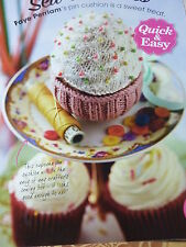 Knitting Pattern To Knit A Very Pretty Cup Cake PIn Cushion 4Ply